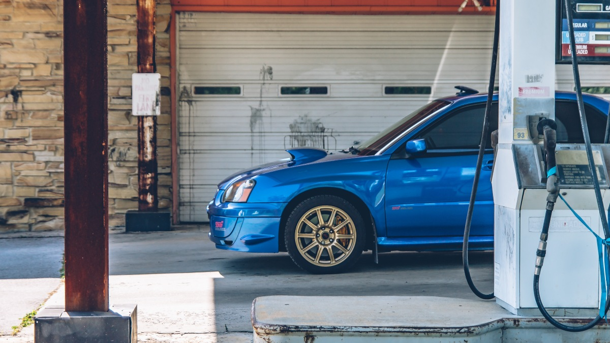 Feature: Blue Ox (2005 STI)