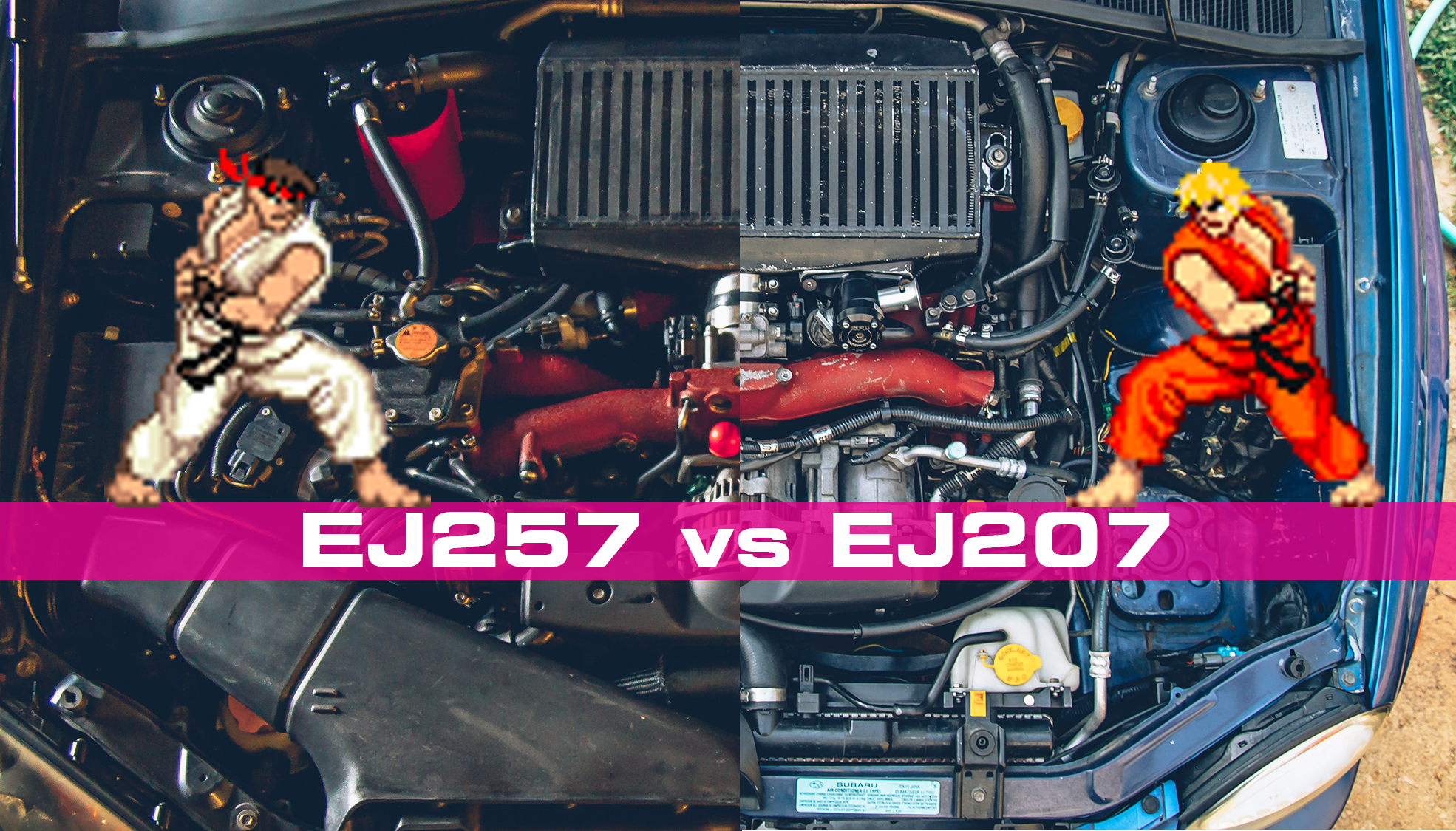 Street Fight: EJ207 vs EJ257 – Building a Bugeye WRX and more…