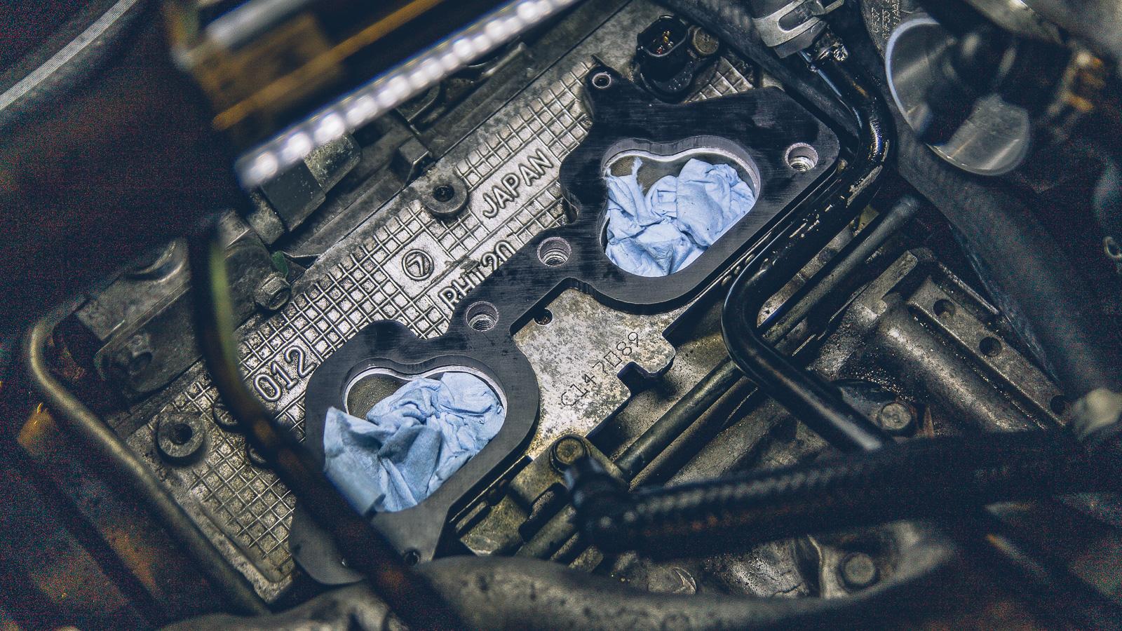 Install: KSTech 6.5mm Phenolic Intake Manifold Spacers